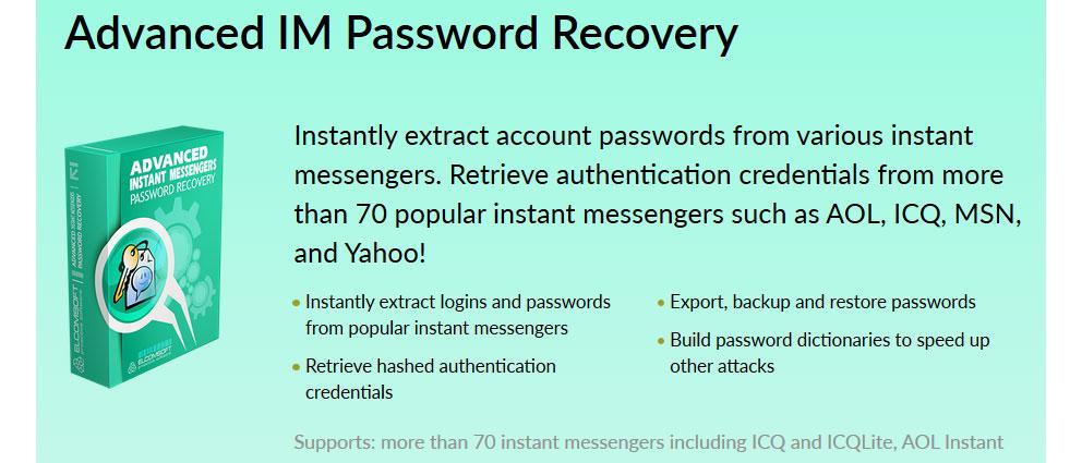Elcomsoft.Advanced.IM.Password.Recovery.center عکس سنتر
