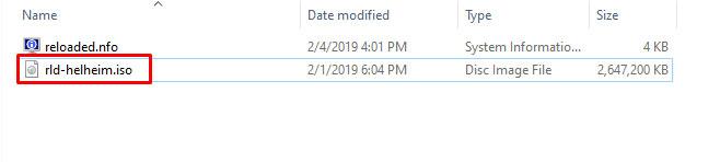 راهنمای نصب و کرک نسخه Reloaded