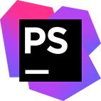 لوگوی نرم افزار JetBrains PhpStorm