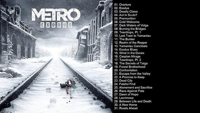 لیست موزیک های Metro Exodus