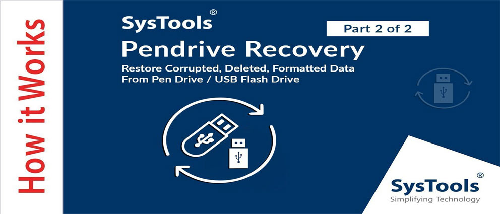 SysTools.Pen.Drive.Recovery.center عکس سنتر