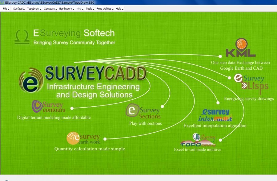 www.download.ir App ESurvey CADD center