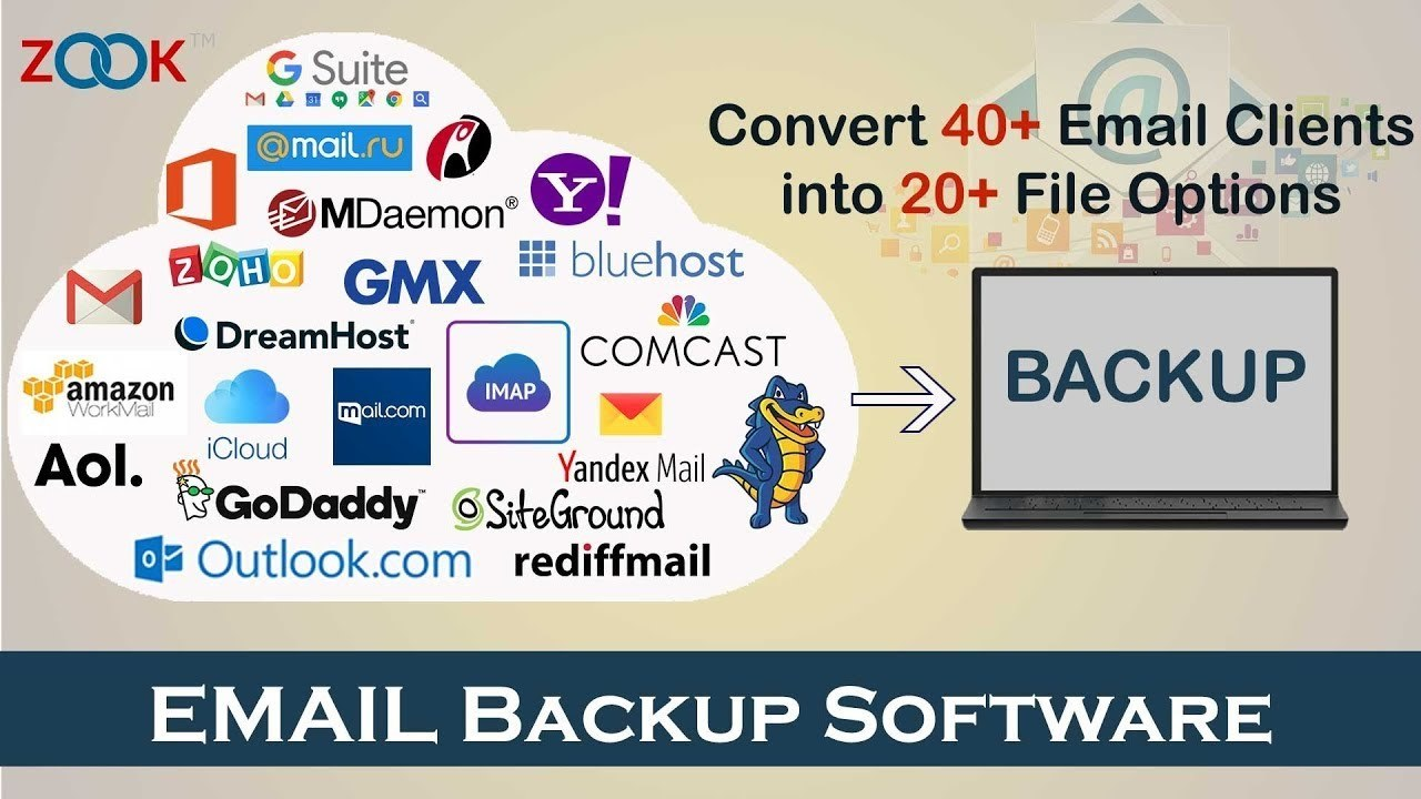 www.download.ir App ZOOK Email Backup Wizard center