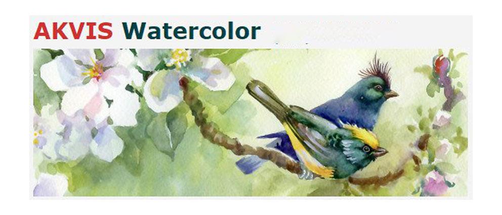 AKVIS.Watercolor.center عکس سنتر