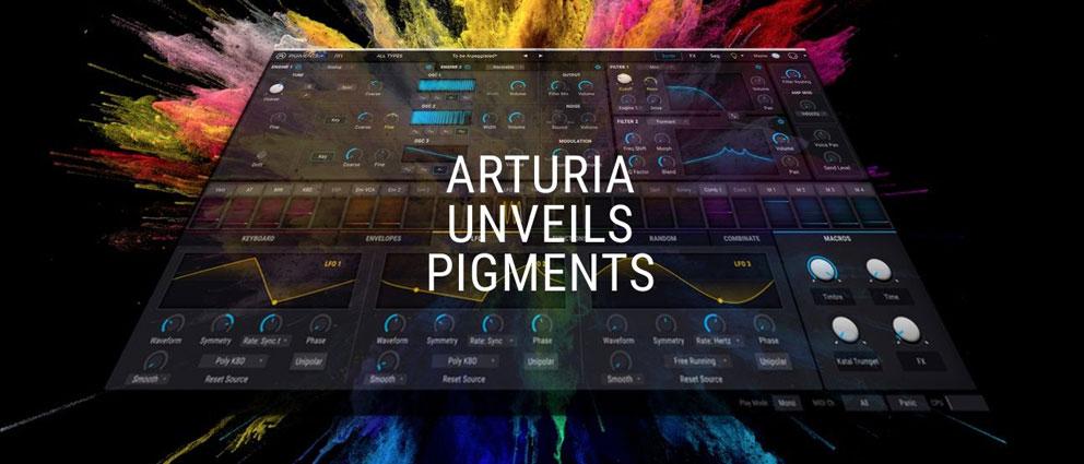 Arturia.Pigments.center عکس سنتر
