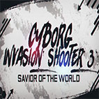 Cyborg Invasion Shooter 3 Savior Of The World Icon