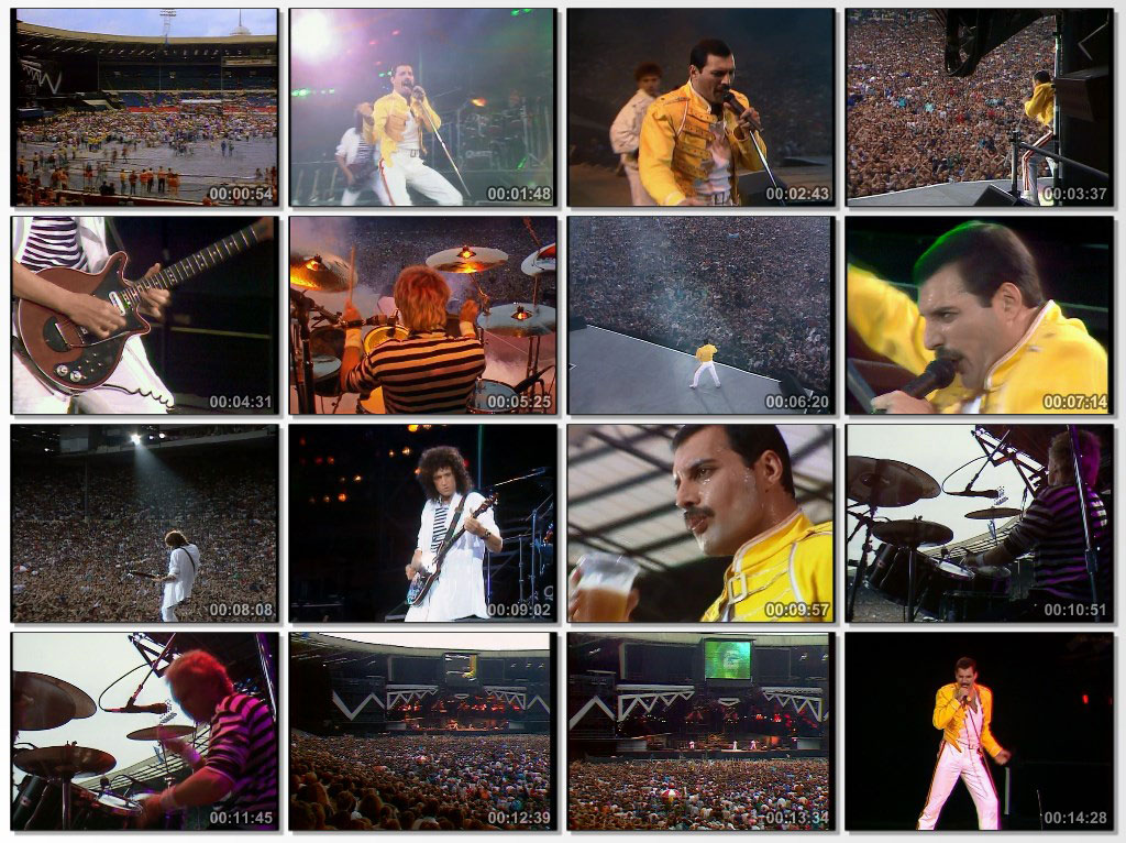 تصویر زمینه Queen at Wembley 1986