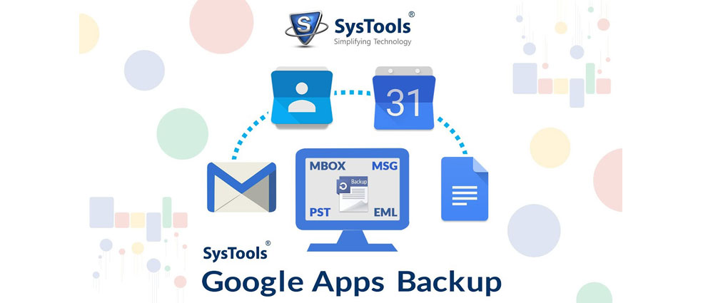 SysTools.Google.Apps.Backup.center عکس سنتر