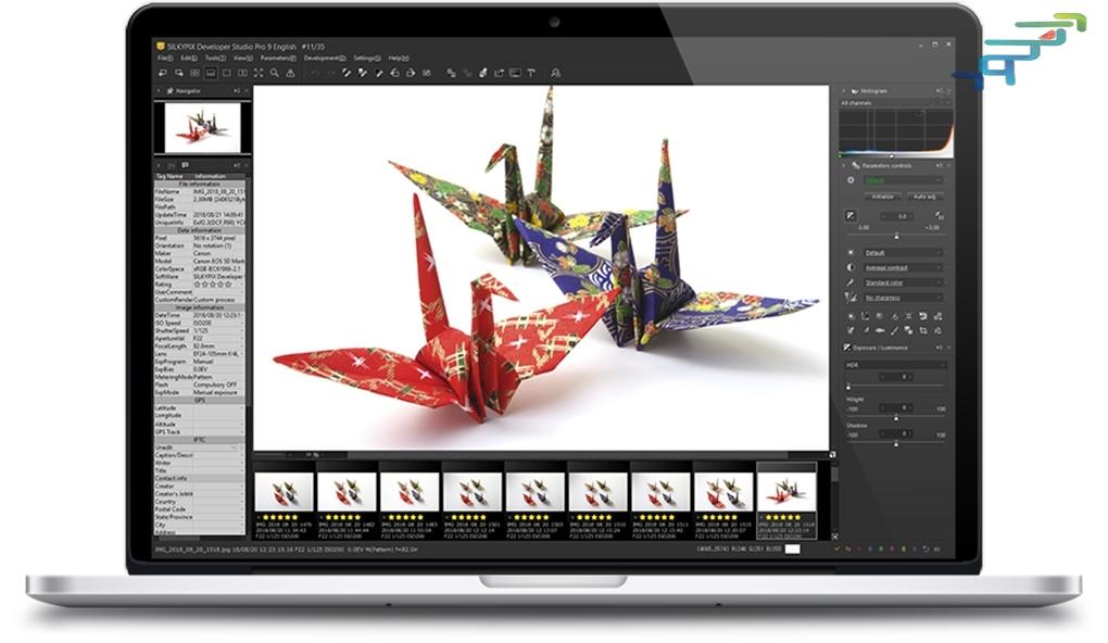 www.download.ir App SILKYPIX JPEG Photography center