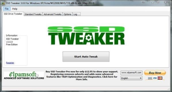 www.download.ir App SSD Tweaker center
