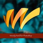 www.download.ir Moody Photoshop Panel logo