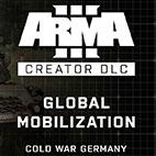 لوگوی Arma 3 Global Mobilization Cold War Germany