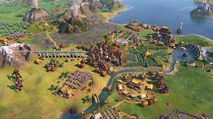 محیط بازی Sid Meiers Civilization VI Gathering Storm