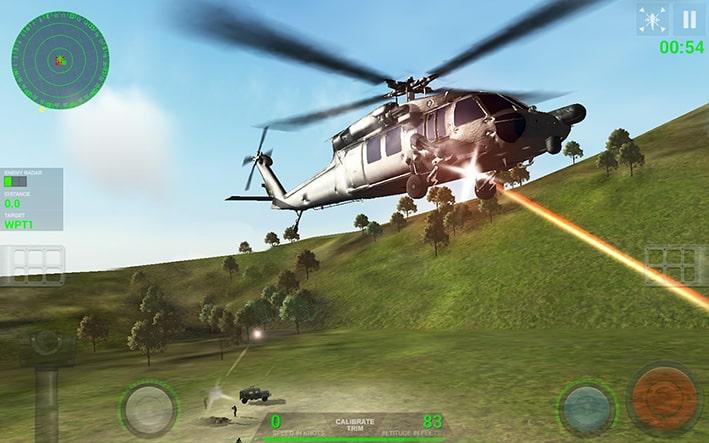 بازی اندروید Helicopter Sim Pro