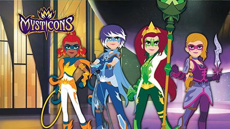 تصویر انیمیشن Mysticons