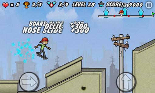 محیط بازی اندروید Skater Boy