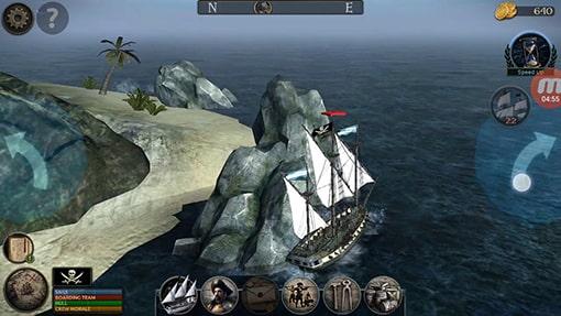محیط بازی اندروید Tempest: Pirate Action