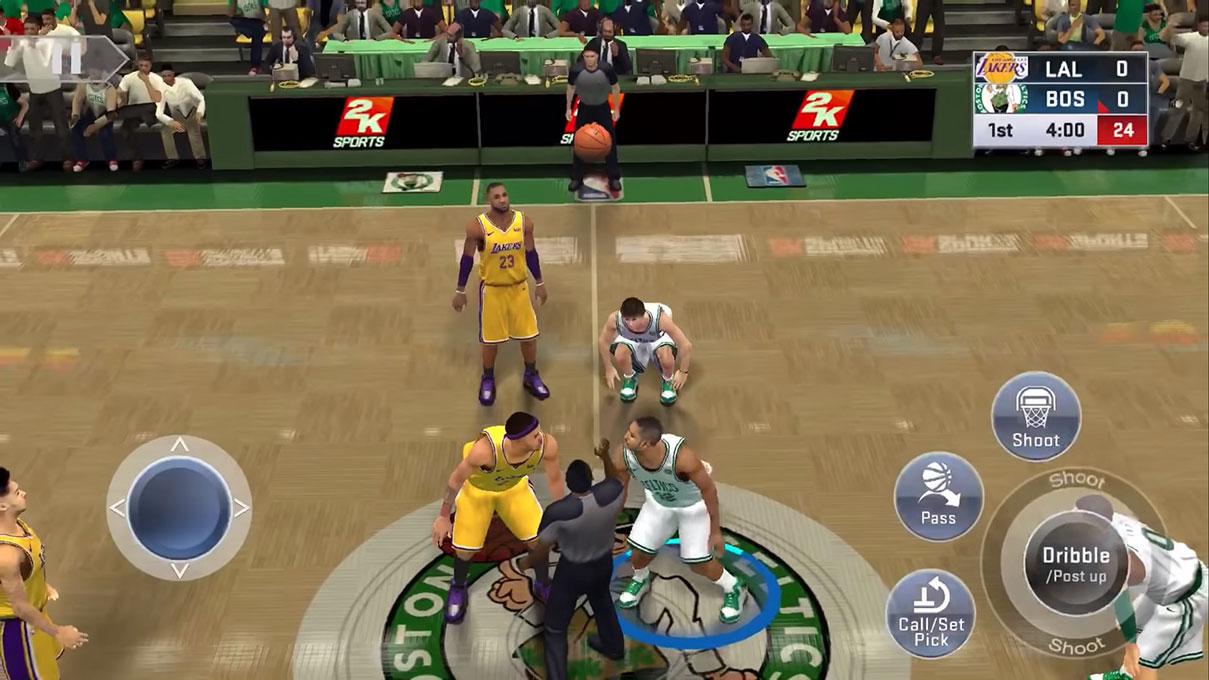 تصویر بازی NBA 2K19