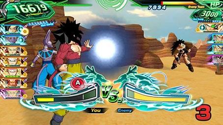 مجیط بازیSUPER DRAGON BALL HEROES WORLD MISSION
