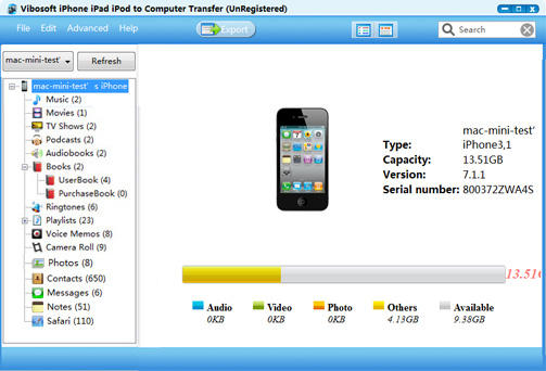 Vibosoft.iPhone.iPad.iPod.Backup.Extractor.center عکس سنتر