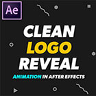 2D Clean Logo Reveal Animation in After Effects Beginners