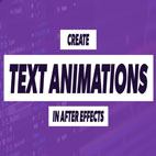 Mastering Text Animation in After Effects under 15 Minutes