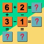 Kids Math Puzzle Logo