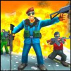 Creative Battle: Firing Destruction Battlegrounds Logo