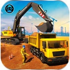 Heavy Excavator Crane City