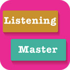 Learn English with Listening Master Pro Logo