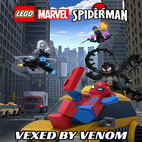 Lego-Marvel-Spider-Man-Vexed-By-Venom-2019-لوگو