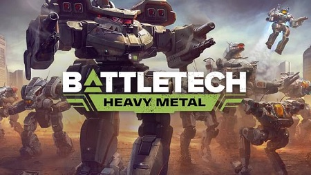 دانلود بازی کامپیوتر BATTLETECH Heavy Metal نسخه CODEX
