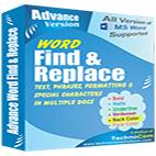 لوگوی برنامه Technocom Advance Word Find and Replace
