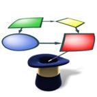 لوگوی برنامه WizFlow Flowcharter