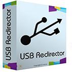 لوگوی برنامه USB Redirector
