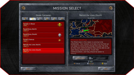 Mission-Selection