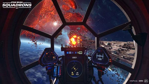 تصویر زمینه بازی Star Wars Squadrons