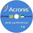 دانلود نرم افزار Acronis 2k10 UltraPack