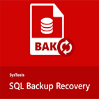 SysTools SQL Backup Recovery