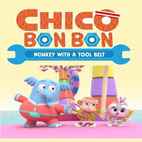 Chico-Bon-Bon-Monkey-with-a-Tool-Belt-Logo