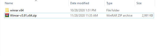 آموزش اکسترکت فایل با نرم افزار Winrar
