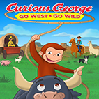 Curious George: Go West, Go Wild 2020-logo