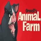 Orwell's Animal Farm - logo