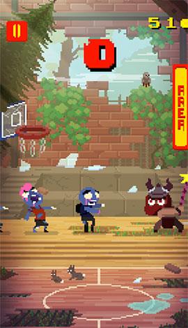 Basketball vs Zombies