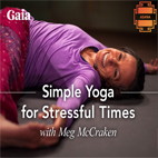 دانلود فیلم آموزشی Gaia Simple Yoga for Stressful Times