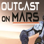 Outcast on Mars-logo