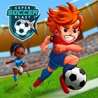 super soccer blast.logo
