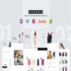دانلود Fashable Stylist eCommerce Elementor Template Kit